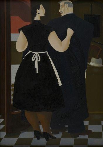 Ferdinand Erfmann, De vestiaire, collectie Dordrechts Museum