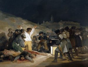 Goya, 3 mei 1808 in Madrid, 1814